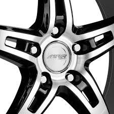 lexus gs350 mrr wheels mrr gt5 wheels black with diamond cut face and lip rims