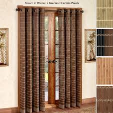 Stupendous Decorative Traverse Curtain Rods by Patio Doors Blackout Patio Door Curtains Stupendous Photos