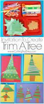 invitation to create trim a tree creative and craft