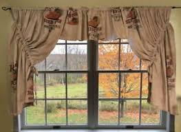 Feed Sack Curtains Seed Corn Feed Sack Curtains 44 By 50 Ebay