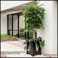 artificial trees silk trees outdoor faux trees