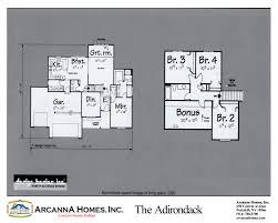 Adirondack Floor Plans Panelized Home Styles Arcanna Homes Construction