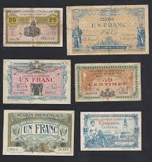chambre de commerce perigueux collection of 42 diferent chambres de commerce banknotes