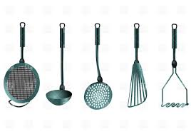 Kitchen Utensil Design by Kitchen Utnensils Objects Download Free Vector The Cliparts