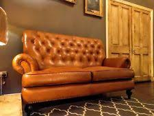 Faux Chesterfield Sofa Chesterfield Faux Leather Sofas Ebay