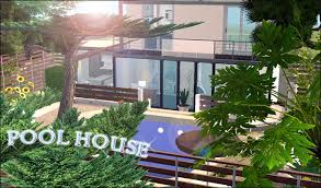 2 house with pool saturnfly sims estate