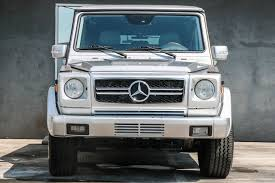 used mercedes g wagon 2004 used mercedes g class g500 at motor cars serving