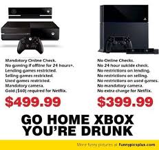 Xbox Memes - ps4 vs xbox one meme funny ps4 vs xbox one jokes share yours too