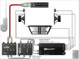 wiring diagram for a car stereo amp and subwoofer kwikpik me