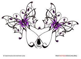 butterfly design tattoos butterfly