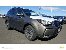 brown subaru forester 2017 sepia bronze metallic subaru forester 2 0xt touring