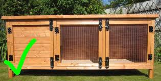 Fox Proof Rabbit Hutches Securing Housing The Rabbit Residence Rescue
