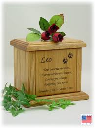 dog urns memorial poem pet urns for dog and cats