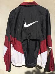 nike windbreaker vintage 90s nike windbreaker sweater jacket on the hunt clothes