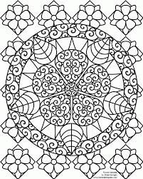 free mandala coloring pages for adults az coloring pages