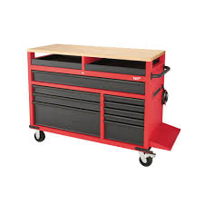 milwaukee 52 in 11 drawer mobile workcenter 48 22 8552 the home