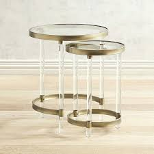 acrylic nesting tables target acrylic nesting tables acrylic nesting side tables acrylic nesting