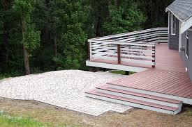 hedahl landscape services decks patios arbors retaining walls