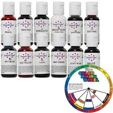 12 pastel americolor soft gel paste 75oz cake decorating food