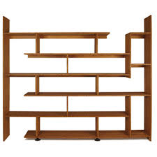 Staggered Bookshelves by Staggered Shelf For Much More Than Books