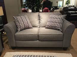 made in usa sofa roundhill furniture structure granite fabric loveseat with 2