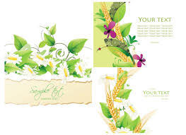 Floral Invitation Card Designs Summer Invitation Cards Vector Free Stock Vector Art