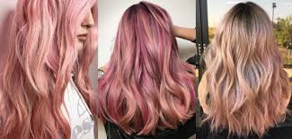 rose gold hair color 20 rose gold hair color ideas tips how to dye salon three