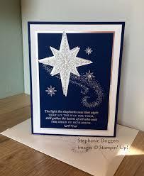 light up star of bethlehem stin up star of light st set night of navy and whisper white