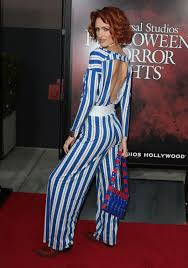 breeda wool at halloween horror nights opening night in hollywood