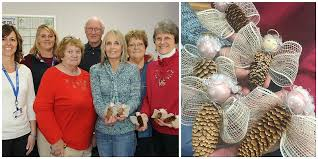 hospice works on personalized ornaments memorial service set for