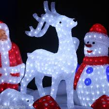 outdoor figures lighted 50 images fiber optic 39 reindog 39