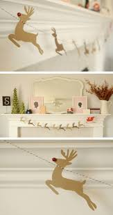 decoration christmas room diy garland homemade decoration ideas