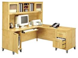 L Shaped Office Desks With Hutch Office Desk With Hutch Home Office Desk With Hutch Image Of White