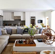 Decorating Ideas For Open Living Room And Kitchen Open Kitchen Living Room Decor Aecagra Org