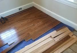 prefinished hardwood flooring installation refinish or