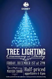 tree lighting ceremony at derby lincoln park chamber of commerce