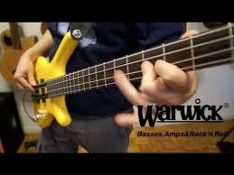 warwick corvette bass review warwick rockbass corvette basic 4 string demo
