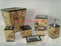 Brown Bathroom Accessories Brown Marble Bathroom Accessories From China Stonecontact Com
