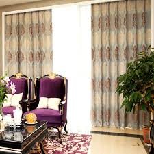 Retro Curtains Retro Curtains And Window Treatments Of Chenille Fabrics