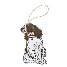 millie the springer spaniel ornament white house pets