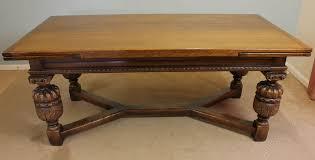 Antiques Atlas Antique Oak Refectory Draw Leaf Dining Table - Antique oak kitchen table