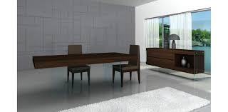 aura ii modern dining set chocolate by j u0026m furniture modern buffet