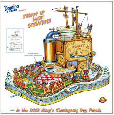 domino sugar unveils float for 86th annual macy s thanksgiving day