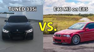 best for bmw 335i the best race tuned f30 bmw 335i vs e46 m3