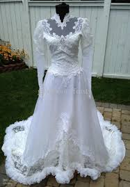 discount reduced vintage lace a line wedding dress dresses with