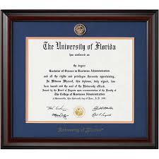 diploma framing 1314e diploma frame of florida