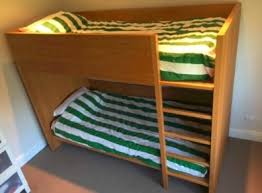 Habitat Bunk Beds Habitat Ando Bed And Matching Wardrobe Solid Oak For Sale In
