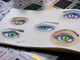 sketching eyes painter amino