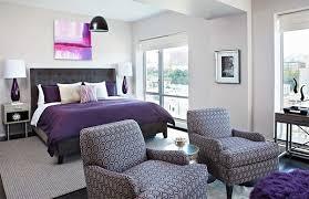 chambre grise et violette chambre violette 20 idées décoration pour un chambre originale