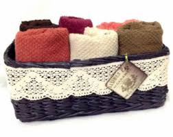 Bathroom Towel Storage Baskets by Towel Storage Etsy